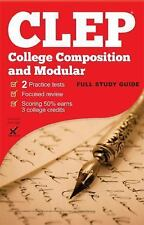CLEP College Composition/Modular by Jessica Egan (2016, Paperback)
