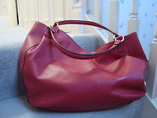 Gianni Chiarini Red Leather  SHOULDER BAG SAC BORSA