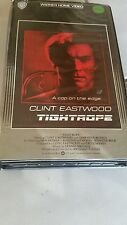 TIGHTROPE - CLINT EASTWOOD CLAMSHELL  VIDEO TAPE