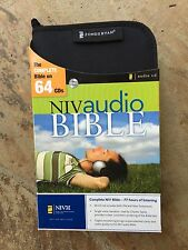 New NIV (1984) Audio Bible: Voice Only by Charles Taylor on 64 CDs-Unabridged