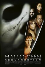 Halloween: Resurrection Original S/S 1 Sheet Rolled Movie Poster 27x40 NEW 2002