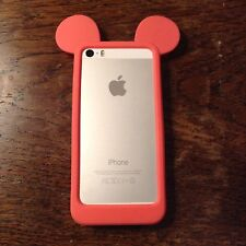 Disney Mickey Mouse Ears Side Silicone Phone Case For iPhone 5/5s/5c/SE