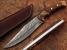Knife King Exclusive Damascus Bowie Hunter Limited Edition