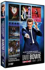 JUST A GIGOLO+THE HUNGER+INTO NIGHT+ABSOLUTE BEGINNERS+BASQUIAT Dvd DAVID BOWIE