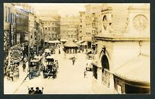 c. 1905 SCOLLAY SQUARE, BOSTON SHOPPING DISTRICT Vintage Photo BEAUTY!