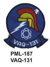 """4""""  NEW VAQ-131- Embroidered Military Large Patch"""