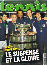TENNIS MAGAZINE N°250  special coupe davis