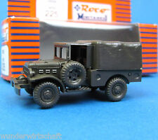 Roco Minitanks H0 225 DODGE WC52 LKW 3/4to US ARMY WWII HO 1:87 OVP