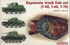 Techmod 1/35 Scale Separate Track Link Set for T-40, T-60 & T-70 Russian Tanks