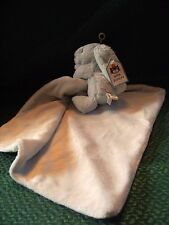 LittleJellykitten  Bashful Blue Bunny Soother Comforter Blanket Soft Toy w/tags