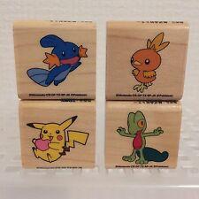 Very Rare JAPAN Pokemon stamp pikachu Treecko Torchic Mudkip nintendo