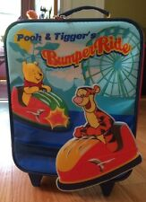 DISNEY Winnie the Pooh Carry-On rolling Kids Boys Or Girls Suitcase w/ Wheels.