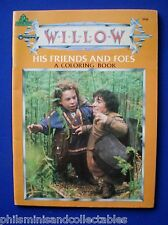 George Lucas - Willow His Friends & Foes - A Coloring Book  1988  USA