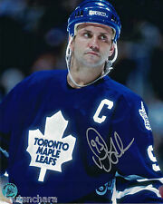 Doug Gilmour Toronto Maple Leafs Autographed 8 x 10 Photo With COA By AJ's