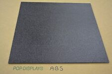 "ABS  PLASTIC SHEET BLACK 1/4"" x 32"" x 24"""