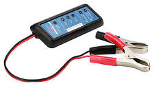 ANSMANN Power Check Battery Tester for 12V Vehicle Lead Acid Batteries, 4000002