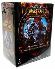 New Sealed World of Warcraft Dark Lady Sylvanas Windrunner Champion Deck WoW TCG