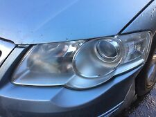 VW Passat B6 2005-2010 Headlight N/S Passenger side spares or repair