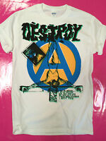 Destroy / Anarchy punk rock t-shirt type BOY + seditionaries print Sex Pistols