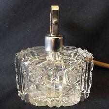 Flacon à parfum pulvérisateur cristal Bohème