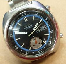 Rare Vintage Japan Seiko Mens Chronograph Automatic Watch 6139-7002 (TP154)