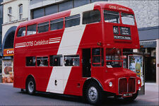 581020 Former London Routemaster At Work In Carlisle A4 Photo Print