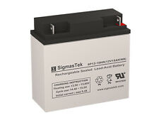 12 Volt 18 Amp HR F2 Terminal National Battery NB12-18HR SLA battery