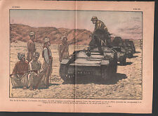 Khyber Pass Afghanistan ARMY ENGLAND PATROL Afridi pachtounes  ILLUSTRATION 1934