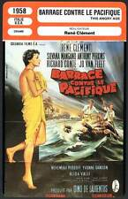 FICHE CINEMA : BARRAGE CONTRE LE PACIFIQUE - Mangano,Perkins 1958 This Angry Age