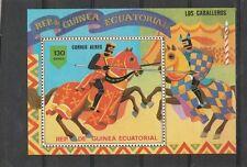 Guinea Ecuatorial - MNH - Dieren/Animals/Tiere  (Paarden/Horses/Pferde)