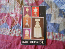 1975-76 PHILADELPHIA FLYERS MEDIA GUIDE Yearbook 1976 NHL Hockey FACT BOOK AD