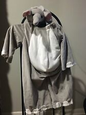 Kids Elephant Costume Youth Boys Girls Toddler Halloween