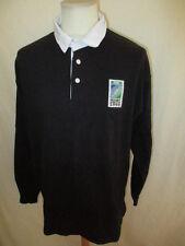 maillot de rugby vintage Coupe du monde 1999 Noir Taille XL