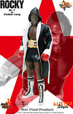 """Hot Toys Rocky III CLUBBER LANG 12"""" Action Figure 1/6 Scale MMS20 Mr. T"""