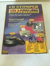 CD Stomper Pro CD Labeling System NIB