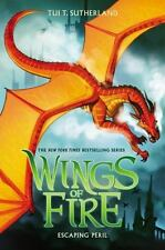 Wings of Fire: Escaping Peril Bk. 8 by Tui T. Sutherland (2015, Hardcover)
