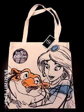 BNWT DISNEY PRINCESS JASMINE ALADDIN CANVAS REUSABLE SHOPPING SHOULDER BAG