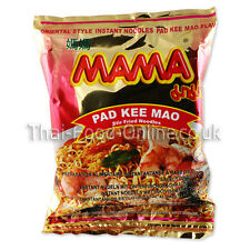 30 x Instant Mama Noodles - Pad Khee Mao Flavour 60g (R025x30) - UK Seller