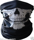 Skull Tubular Mask Motorcycle Biker Face Novelty Open S M L XL Helmet Half dot