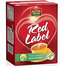 2 PACK BROOKE BOND RED LABEL TEA FREE SHIPPING