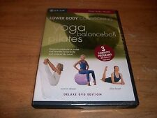 Lower Body Conditioning Yoga Balanceball & Pilates (Deluxe DVD 2003) Fitness NEW
