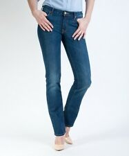 "BNWT LEE L337DNCZ MARLIN LADIES LUXURY SLIM STRAIGHT JEANS 25"" X 33"""