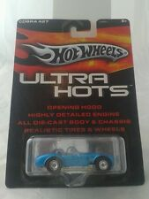 Hot wheels real riders ultra hots shelby cobra 427 all metal red line tyre