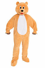 Adult Honey Bear Mascot Costume Full Body Animal Suit Size Standard