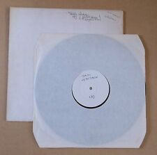 JAKI WHITREN Raw But Tender 1973 UK white label vinyl LP test pressing A1/B1