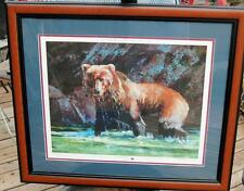 RMEF Rocky Mountain Elk Foundation Bare Naked Lady LE Print BEAR Julie Chapman