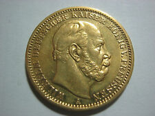 Empire-German States.Prussia 20 mark 1873 in VF-XF condition.Gold coin.Very nice