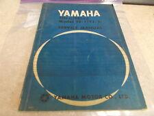 OEM Yamaha Service Manual Model YF-1 (YJ-1) 50c.c.(55c.c.)