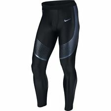 Nike Dri Fit Power Speed Mens Running Tights Size Large (717750 025)