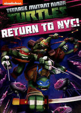 Teenage Mutant Ninja Turtles: Return to NYC! 2015 Ex-library - Disc Only No Case